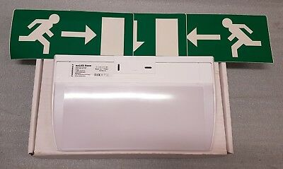 FAGERHULT exLED BASE LED FIRE EXIT SIGN EMERGENCY LIGHT MAINTAINED 3HR