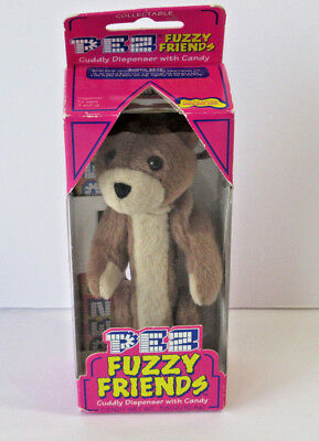 Pez Furry Friends Buddy Bear Brown Dakin