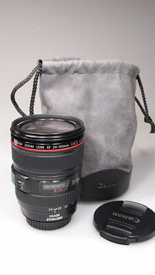 Canon EF 24-105mm f/4 IS L AF USM LENS MINT+++