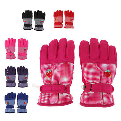 Kids Winter Warm Gloves for Skiing/Cycling Children Mittens for 6 to 10 Year