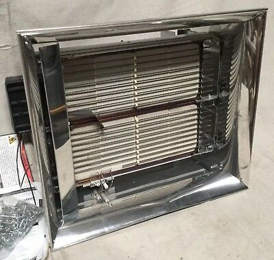 """DAYTONCommercial Infrared Heater NG BtuH Input 60,000 1/2"""" NPT 120VAC"""