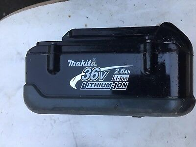 Makita  36 volt 2.6AH li-on battery  good condition hold full charger 36 Volt