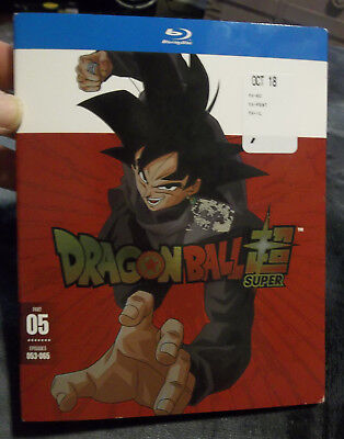Dragon Ball Super: Part Five Blu-ray NEW Sealed Episodes 053-065 w/ slipcover