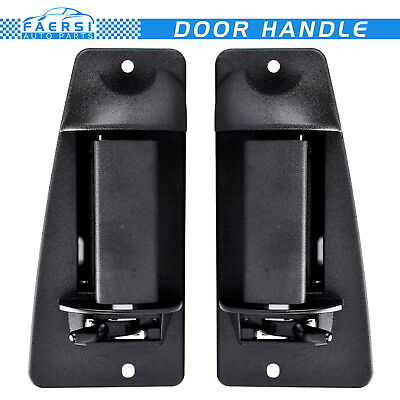Extended Cab 3rd Third Side Door Handle Passenger Driver Side for Chevy Truck