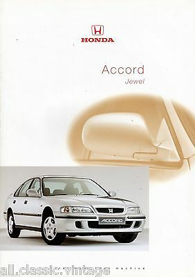 HONDA - Accord Jewel prospekt/brochure/folder Dutch