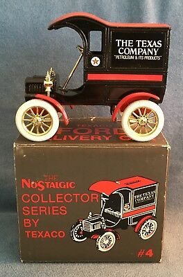 Texaco #4 1905 Ford Car Bank By Ertl In 1997 (Ford's First Delivery Car)