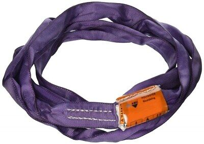 All Material Handling DR106 Round Sling, 2600 lb, 6' Double Jacket, Purple
