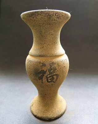 Chinese antiques,noble collection,hand-carved,qianlong year,jade,blessed,Vases