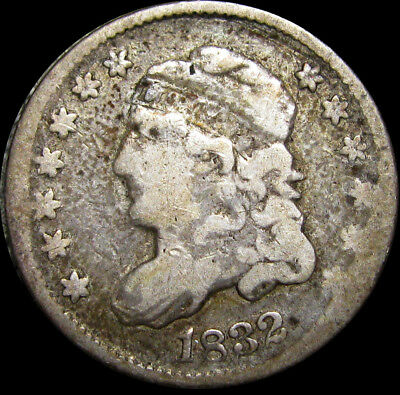 1832 Capped Bust Half Dime --- TYPE COIN --- #U872