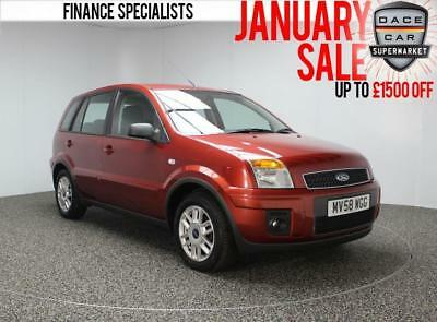 2008 58 Ford Fusion 1.4 Zetec Climate 5Dr Diesel Pound;30 Road Tax Full Service
