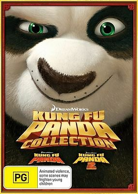 Kung Fu Panda / Kung Fu Panda 2 DVD * NEW SEALED *
