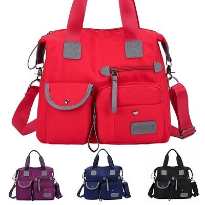 Women Travel Tote Oxford Multi Color Bag Large Capacity Shopping Overnight Bag