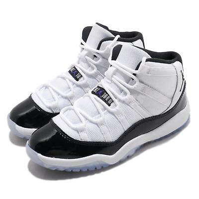 da96c732e11 2018 NIKE AIR Jordan Retro 11 XI Concord White 378037-100 TD & PS Sz ...