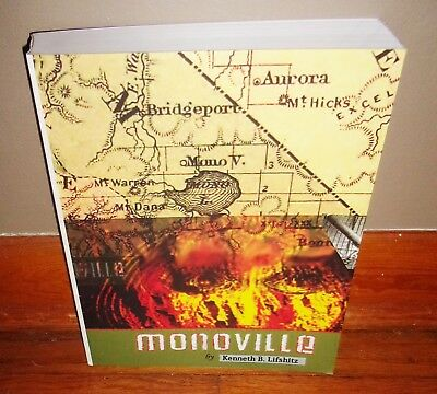 MONOVILLE-2014 Novel-KENNETH B. LIFSHITZ-2nd Printing-SUPERB Condition Book!