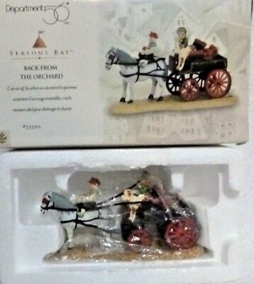 Dept. 56 Seasons Bay Back From the Orchard - 53320
