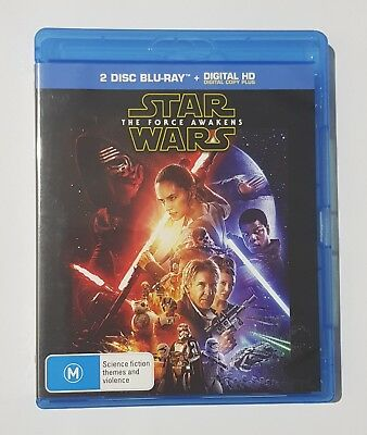 Star Wars: The Force Awakens Blu-Ray (2-Disc Set)