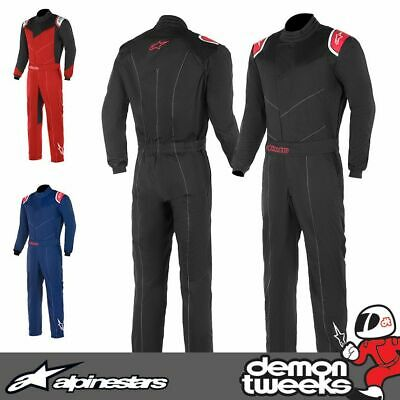 Alpinestars Indoor Kart / Mechanics Single Layer Racing Suit Twill Fabric