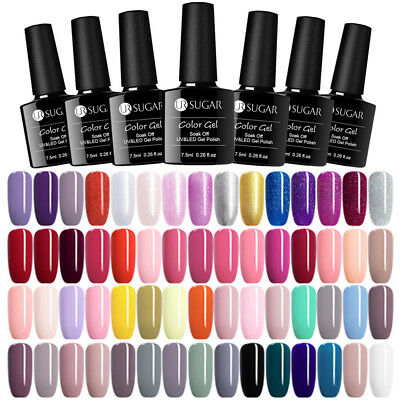 UR SUGAR 7.5/15ml Esmalte de Uñas UV Gel Barniz de Gel Soak off Nail Art UV Gel