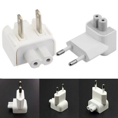 EU CA US AC Power Wall Plug Duck Head For MacBook Pro Air Adapter PC Charger