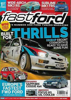 Fast Ford Magazine February 2019 (NEW) *Post Included To UK/Europe/USA/Canada