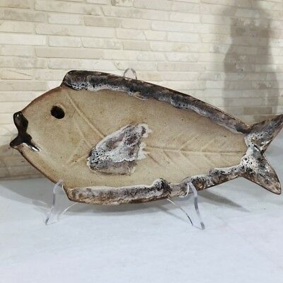 Vallauris France Ceramic Schale Fisch Poisson 32 cm