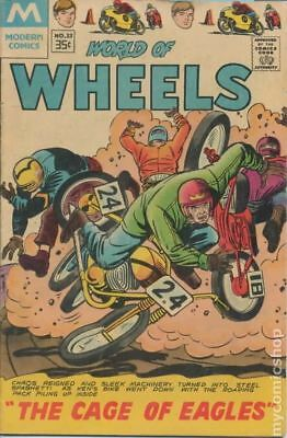 World of Wheels Reprint (Modern Reprint) #23 1967 VG 4.0 Stock Image Low Grade