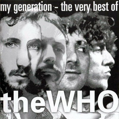 CD The Who ‎– My Generation - The Very Best Of - Album Nuevo y Precintado