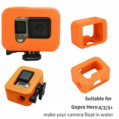 Floaty Floating Waterproof Protection Frame Case Cover For Gopro Hero 7/6/5/4/3