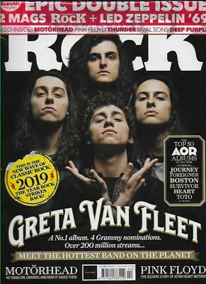 CLASSIC ROCK Magazine - February 2019(NEW)*Post included to UK/Europe/USA/Canada