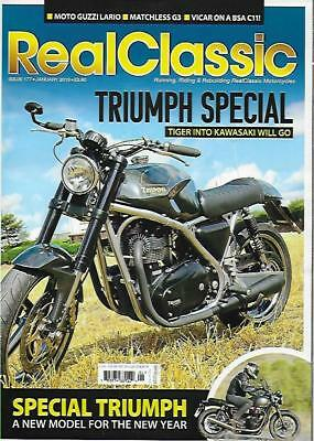 REAL CLASSIC Magazine No.177 / Jan.19 (NEW COPY) *Post included to UK/EU/USA