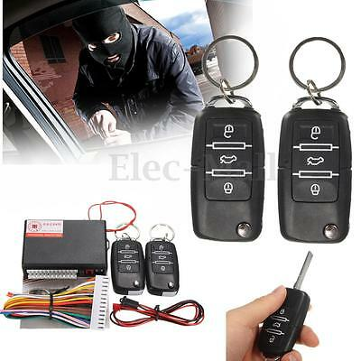 Universal Car Keyless Entry System Kit Remote Control Central Door Lock