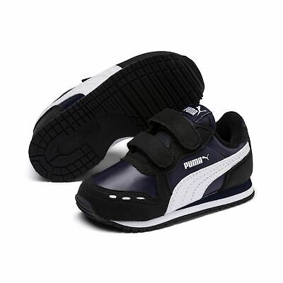 Puma Cabana Racer Sl V Inf Children Sneaker Shoes 351980 Peacoat Puma Black