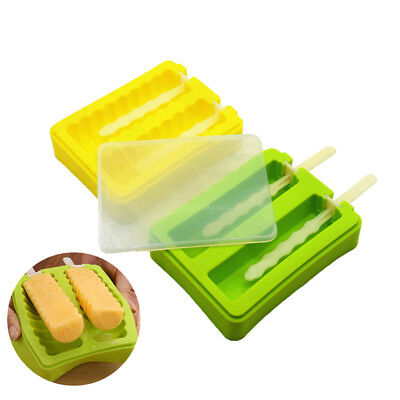 Silicone Frozen Ice Cream Mold Juice Popsicle Maker Ice Lollipop Mould Tool Z