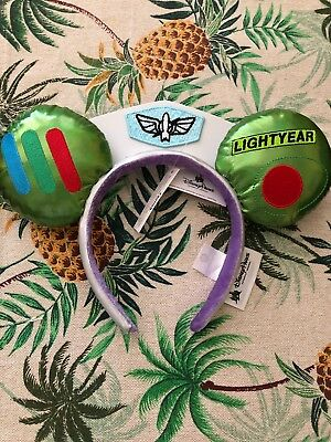Disney World Toy Story Infinity And Beyond Buzz Lightyear Mickey Ears Headband
