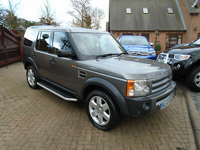 2007 57 Reg Land Rover Discovery 3 2.7TD V6 Auto HSE