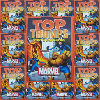 Top Trumps Single Card Marvel Comic Characters Heroes 2005 - Various (FB3)