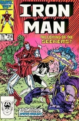 Iron Man (1st Series) #214 VF/NM; Marvel | save on shipping - details inside