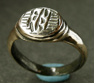 DECORATED VF GENUINE ANCIENT ROMAN Æ RING - wearable