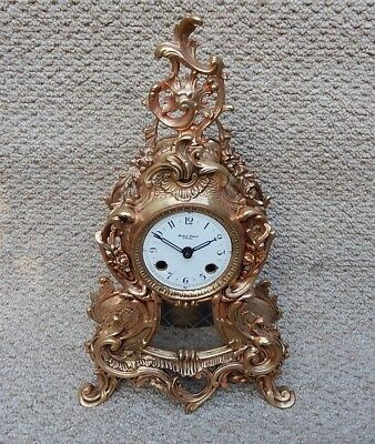 Superb Franz Hermle brass Case Bracket clock. Fully working 2905