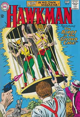 Hawkman (1st Series) #3 FAIR; DC | low grade comic - save on shipping - details