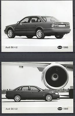 PRESS - FOTO/PHOTO/PICTURE - Audi S6 4.2 Set of 3 Photos 1995