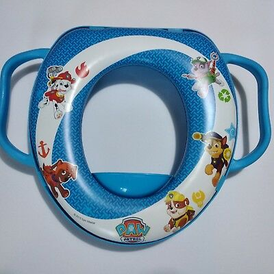 Asiento de entrenamiento Paw Patrol Baby Toilet Seat Childrens Soft Padded