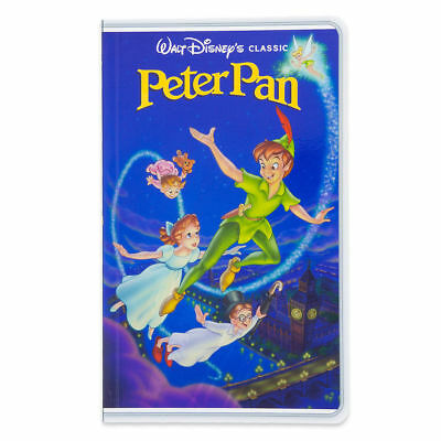 Disney Parks Peter Pan VHS Cover Blank Book Journal Diary NEW