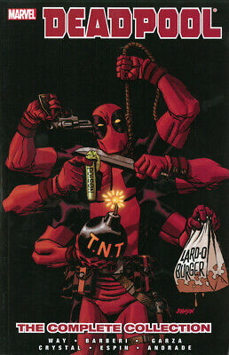 Deadpool By Daniel Way: The Complete Collection Volume 4 - 9780785160120