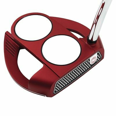 Odyssey O-Works Red 2-Ball Fang Putter 34 In
