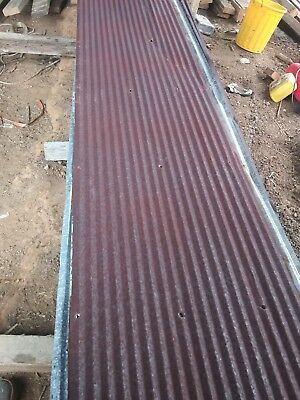 RECLAIMED METAL- CORRUGATED TIN ROOFING- 12x12 1sq ft{FULL SHEETS AVAILABLE}