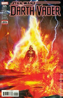 Star Wars Darth Vader (Marvel 2nd Series) #25A 2019 Camuncoli VF Stock Image