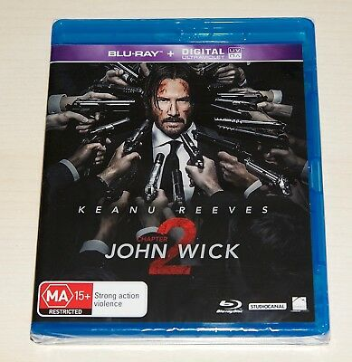 John Wick - Chapter 2 (Blu-ray, 2017) - GREAT MOVIE - FREE SHIPPING - LAST ONE!