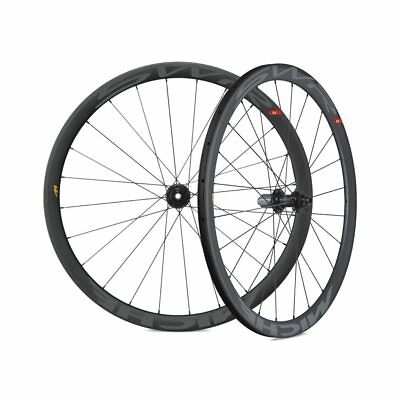 Roues Swr Full Carbone T Dx Disque Broche Passant Tubulaire Whswd1bb Miche
