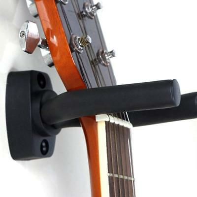 Guitar Hanger Hook Holder Wall Mount Display - Fits all size Guitars, Bass